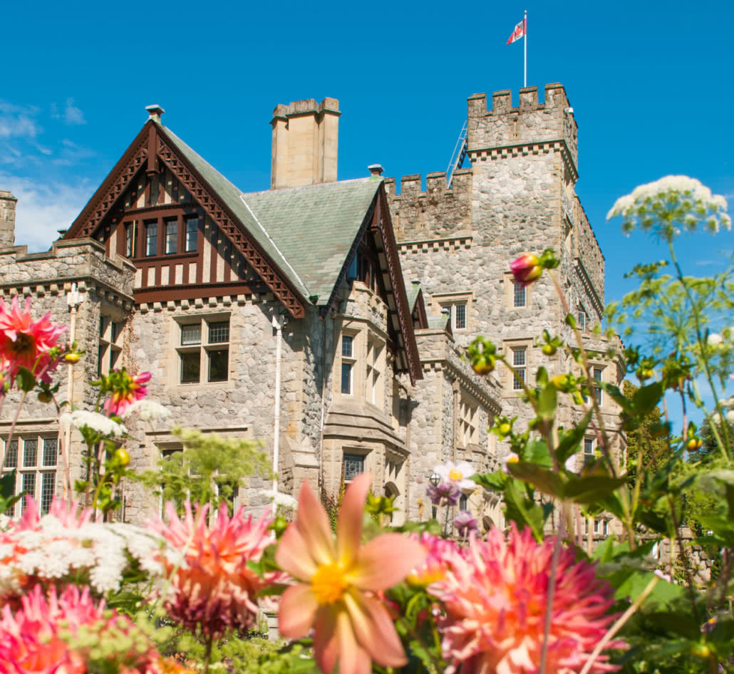 Hatley Castle from Italian Gardens